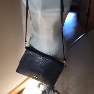 Gigi New York Navy  crossbody Bag